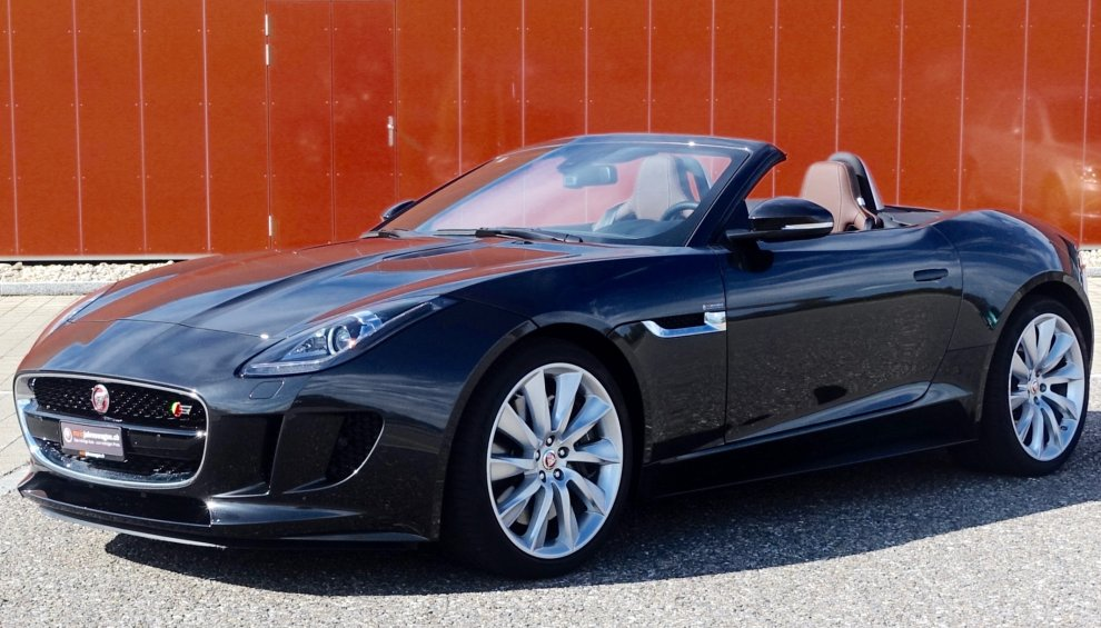 Jaguar F-Type S Convertible 5.0 V8 Supercharged